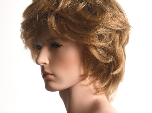 WIG : Mohair-Long Wave Gold