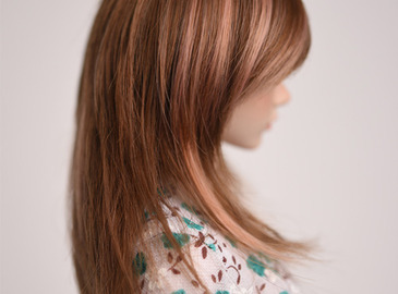 WIG : FMDSS-1108 CoCo Brown-Salmon pink