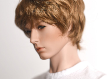 WIG : Mohair-Short Wave Gold