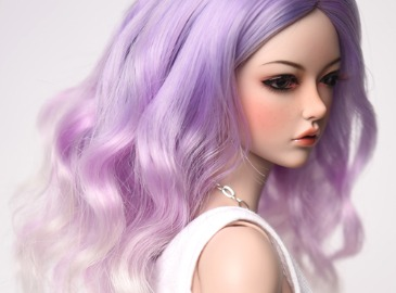 WIG : FMDSS-1124 Light Lavender (5-6 inchs)
