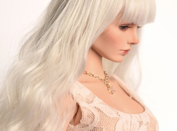 WIG : FMDSS-1101 Cream Blond (5-6 inchs)